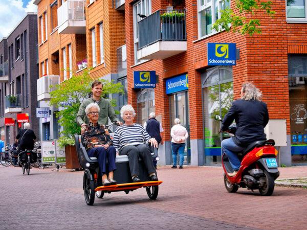 Bicicleta Taxi modelo Chat