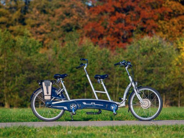 Tándem Twinny bicicleta de paso bajo