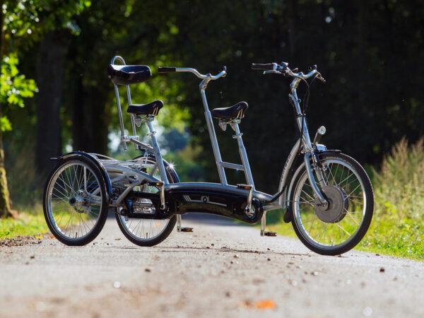Twinny Plus con dos ruedas traseras